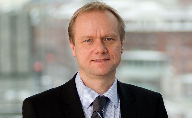 Nordea-Manager Asbjørn Trolle Hansen.