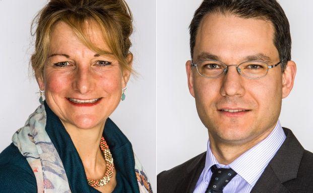 Suzanne Hutchins und Aron Pataki managen den BNY Mellon Global Real Return Fund