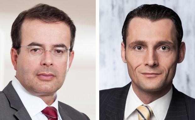 Ansprechpartner zur Vermittlervereinigung Magellan ist bei der Kanzlei Dr. Roller & Partner Rechtsanwalt Thomas Elster (l.) und bei der Kanzlei Peres & Partner Rechtsanwalt Nikolaus Sochurek.