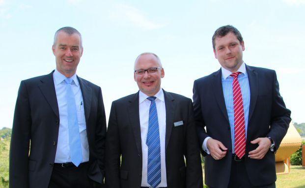 Von links: Claus Kriebel, Klaus Seiwerth und Johannes Neder. Foto: Oliver Lepold