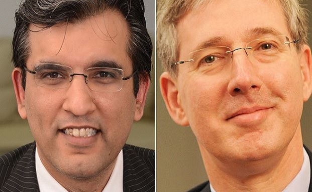 Salman Ahmed, Chefstratege, und Jan Straatman, Investmentchef bei Lombard Odier Investment Managers
