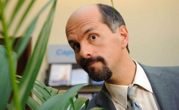 Christoph Maria Herbst alias Bernd Stromberg als nerviger Vorgesetzter der Capitol Versicherung. Quelle: Brainpool TV