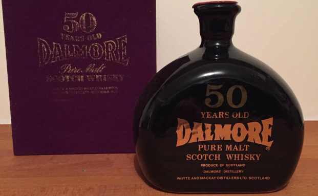 Eine Flasche des 90 Jahre alten Dalmore 50 Years Old