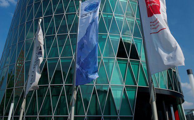 Westhafentower der Eiopa in Frankfurt, Foto: Eiopa