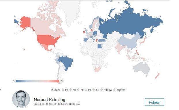 Norbert Keimling hat diese Karte im Sozialen Netzwerk Linkedin veröffentlicht.