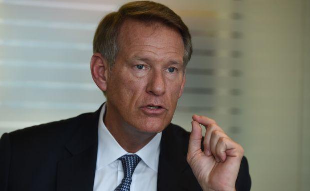 David Saunders, Managing Director von K2 Advisors (Bild: dpa picture-alliance/AFP/Tim Clary)