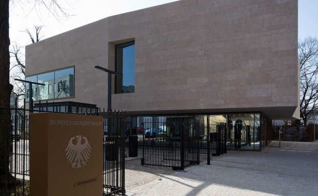 Der Bundesgerichtshof in Karlsruhe. Foto: Nikolay Kazakov