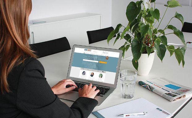 Einige Online-Versicherungsmakler richten sich speziell an für Gewerbekunden. Foto: Finanzchef24