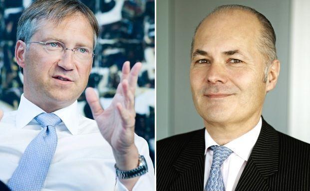 Suchen weitere Mitarbeiter für ihre Vermögensverwaltung: Bert Flossbach und Kurt von Storch (v. li.), Chefs und Gründer von Flossbach von Storch