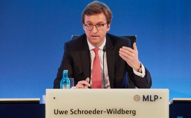 Dr. Uwe Schroeder-Wildberg, Vorstandsvorsitzender der MLP AG