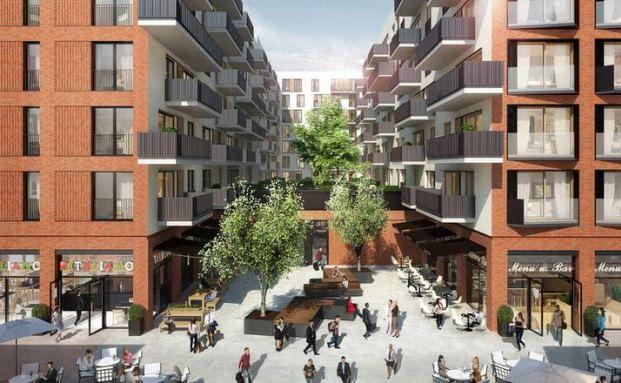 In der HafenCity arbeitet DC Developments bereits mit Modulbau-System: Die Wohnungen im Quartier KPTN bestehen aus einzelnen Einheiten, die entsprechend der Wünsche und Bedürfnisse der Mieter zu größeren oder kleineren Wohnungen zusammengesetzt werden können. Bild: DC Developments