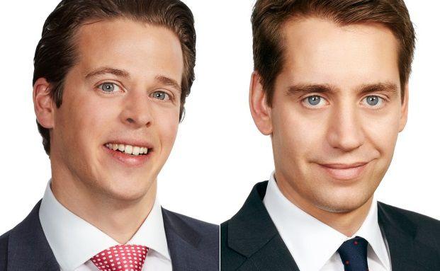 Rechtsanwalt Christoph Thiermann (li.) und Tim Kaufhold, Anwalt der Münchener Kanzlei P+P Pöllath + Partners