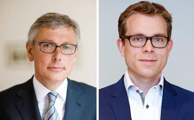 Stephan Rupprecht (li.), Partner bei Hauck & Aufhäuser Privatbankiers und Jonas Marggraf, Geschäftsführer bei easyfolio.