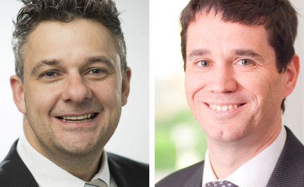 "Blaudirekt-Chef Oliver Pradetto (r.) hat Michael Stock als neuen ""Head of Business Developoment"" ins Management des Maklerpools geholt."
