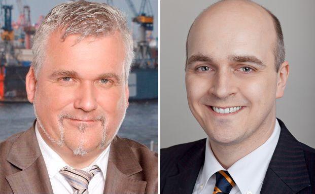 Verbraucherschützer Axel Kleinlein (links) nimmt die Äußerungen von Netfonds-Vorstand Oliver Kieper zum Anlass für eine Generalschelte gegen Deutschlands Lebensversicherer, die bei vielen Praktikern Kritik hervorrief.