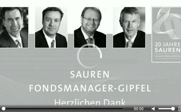 Die Podiumdiskussion des Sauren Fondsmanager-Gipfels