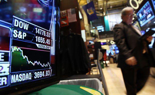 Cyberangriffe gehören zu den großen Risiken für kleinere und mittlere Unternehmen. Sogar die amerikanische Technologiebörse Nasdaq wurde schon gehackt. Foto: Spencer Platt – Getty Images