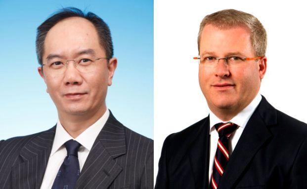 Anthony Chan und Hayden Briscoe