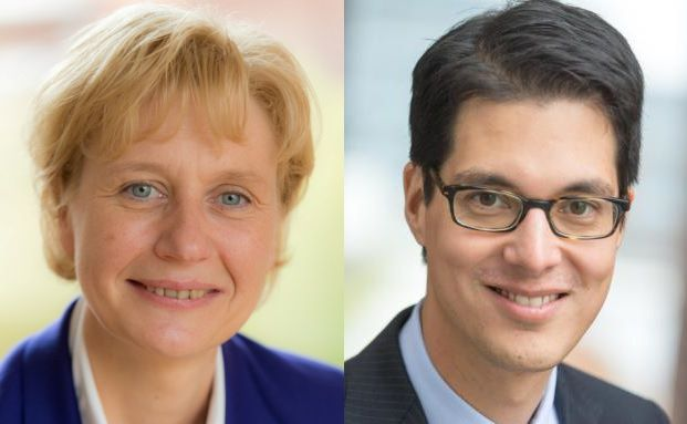 Astrid Stange und Thilo Schumacher (Fotos: Axa)