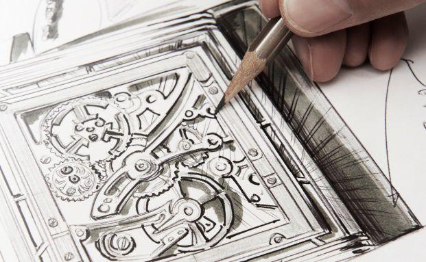 Entwurf einer Luxusuhr: Auch Vermögensverwalter punkten mit Akribie und Sinn für Details. Foto: Jaeger-LeCoultre