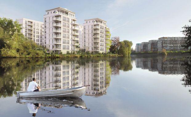Goslarer Ufer in Berlin (Illustration): Projektentwicklung der Project Gruppe