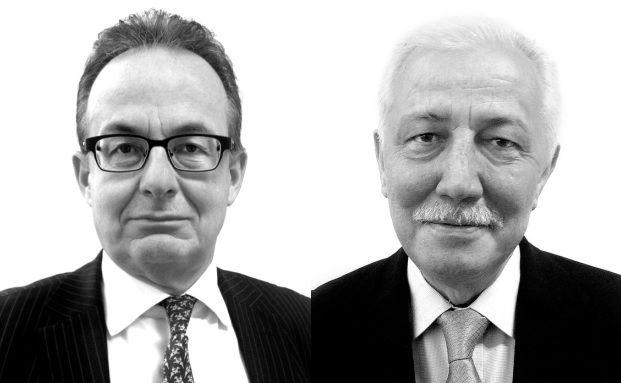 Rupert Hengster und Norbert Enste (von links), Senior Berater bei Gauly Dittrich van de Weyer