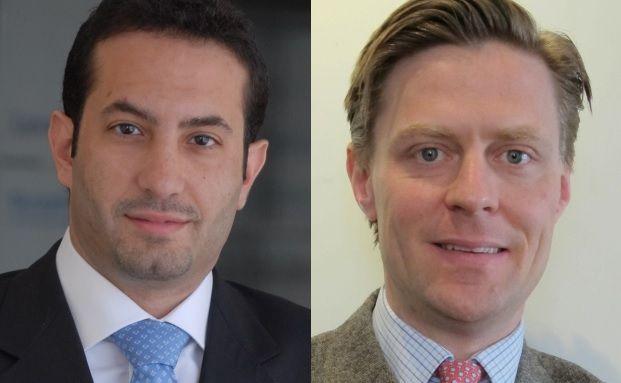 Unterschiedlich positioniert: Schroders-Manager Rami Sidani (links) und Carlos von Hardenberg (Franklin Templeton).