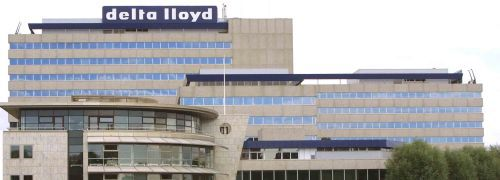 Hauptgesch&auml;ftssitz der Delta Lloyd<br>in Amsterdam