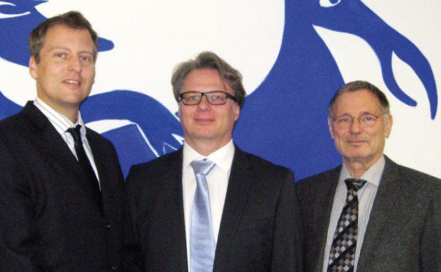 Der Vorstand der R.I. Vermögensbetreuung: Bastian Bohl, Heiko Hohmann und Rainer Imhof (v. l.). (Foto: RI Vermögensbetreuung)