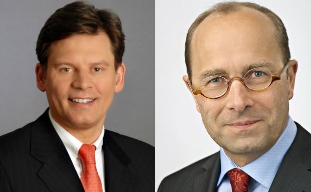 Wolfgang Sawazki und Matthias Jörss