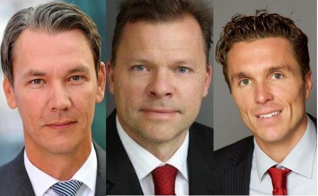 Michael Schütt, Roland Schmidt, Frank Rüttenauer (v. li.)