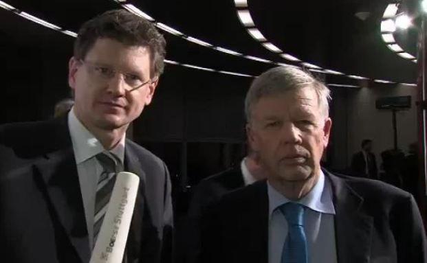 Screenshot des Interview mit der Börse Stuttgart