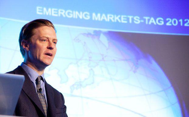 Vortrag des Grenzmarkt-Experten von Hardenberg über exotische Schwellenmärkte mit Potential (Foto: Christian Scholtysik)