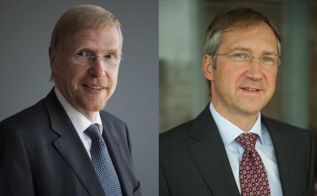 Thomas Mayer und Bert Flossbach