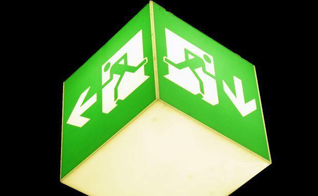 Institutionelle Kunden fl&uuml;chten aus dem Publikumsfondsmarkt <br> in ETFs und Spezialfonds. Foto: pixelio/Ute Pelz