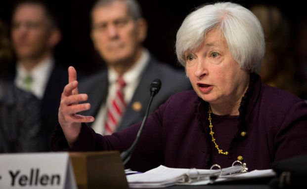 Niedrigzinspolitik der Fed-Chefin Janet Yellen spielt Absolute-Return-Strategen in die Hand. (Foto: Getty Images)