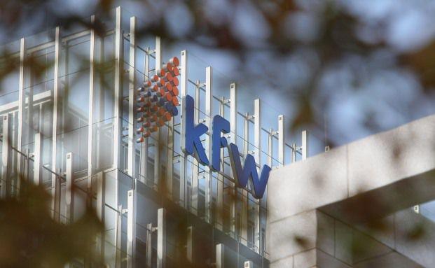 Die Frankfurter Bank Kfw ist laut einem Ranking der Global <br> Finance die sicherste Bank der Welt. Foto: Getty Images