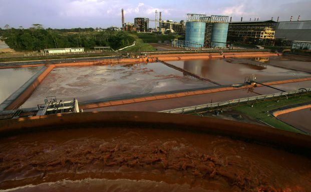 Die Aluminium-Raffinierie Alunorte im brasilianischen <br> Barcarena geh&ouml;rt zum Bergaukonzern Vale. &Uuml;ber die Aktie <br> haben die Schwellenl&auml;nder-Fondsmanager unterschiedliche <br> Meinungen, Foto: Getty Images
