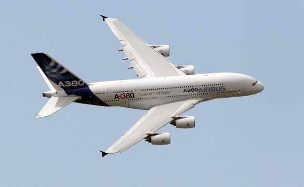 Ein Airbus A380 in Aktion Bild: gettyimages