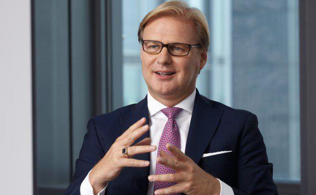Achim Küssner ist seit 2007 Deutschland-Chef der britischen Vermögensverwaltungsgesellschaft Schroders