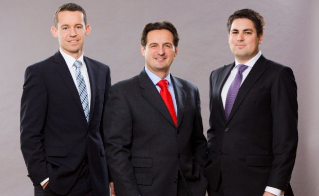 Thorsten Winkler, Klaudius Sobczyk, Marc Sattler (v. li.)