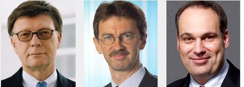 Ulrich Rumm, Maximilian Zimmerer und<br>Christian Molt (von links), Quelle: Allianz