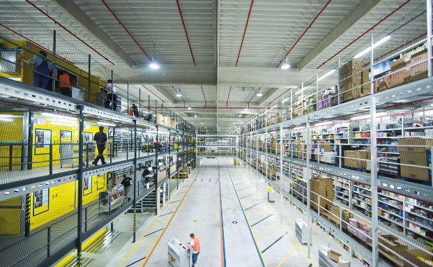 Amazon-Lager in Leipzig: Das US-Unternehmen zählt zu den größten Positionen im Phaidros Funds Balanced (Foto: Amazon)