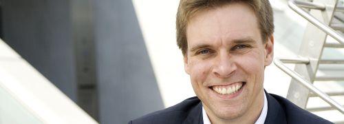 Andreas Leckelt hat gut lachen:<br>Er ist Verm&ouml;gensverwalter 2010.