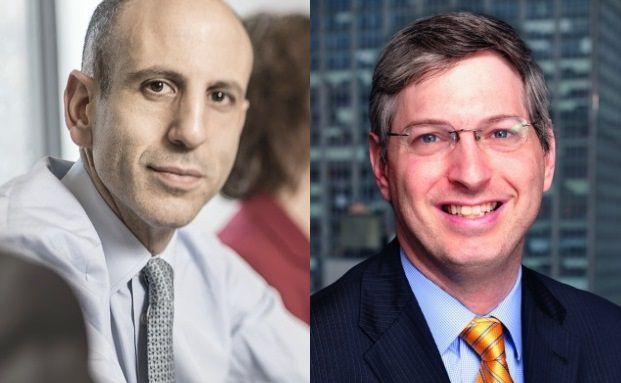 Jupiter Dynamic Bond-Manager Ariel Bezalel (links) und Jason Horowitz.