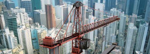 Der anhaltende Bau-Boom wie hier in Hongkong<br>ist eines der Argumente, die f&uuml;r S&uuml;dostasien<br>sprechen. Quelle: Istock