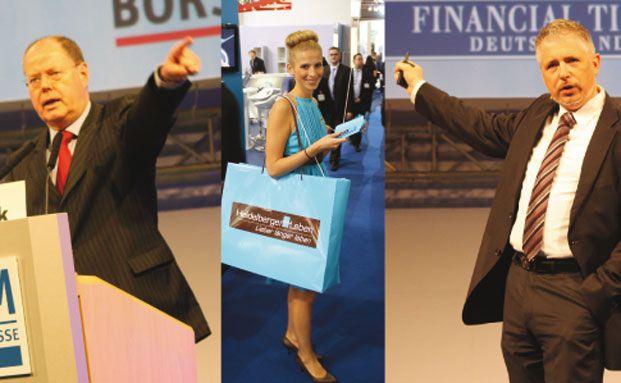 : Börsenstars, Hostessen, Politiker – die DKM 2010 in Bildern