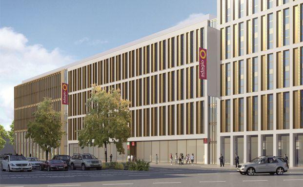 So soll das k&uuml;nftige Aparthotel aussehen <br> Quelle: Fay Projects GmbH