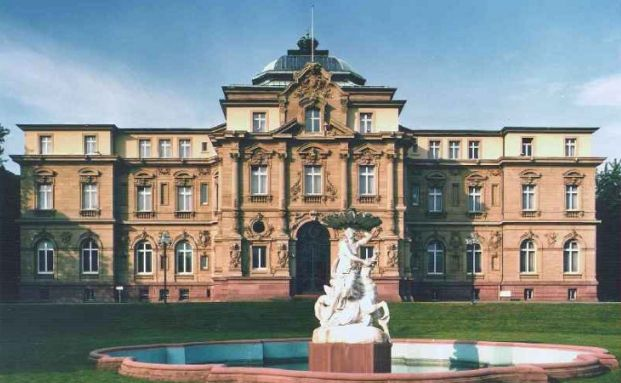 Gebäude des Bundesgerichtshof in Karlsruhe