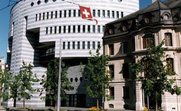 Die Bank für Internationalen Zahlungsausgleich (BIZ) in Basel, Schweiz. Quelle: BIZ